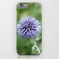 Purple Flowers iPhone 6 Slim Case