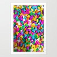 CANDY LOVE Art Print