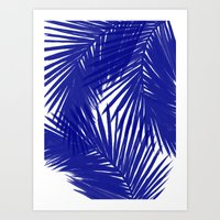 Palms Royal Art Print