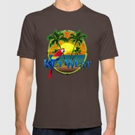 T-shirt featuring Key West Sunset by MacDonald Creative S…