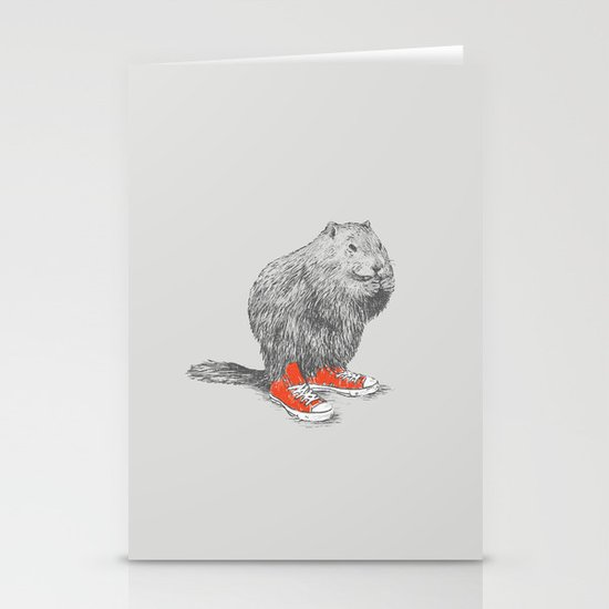 Woodchucks Stationery Card