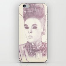 Shattering The Mold - Janelle Monae iPhone & iPod Skin