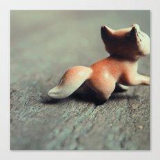 Fox Tail Canvas Print