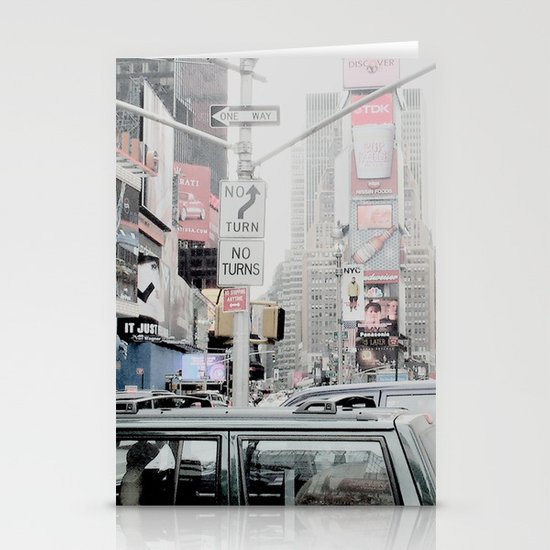 NEW YORK 2 Stationery Card