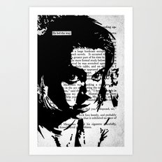 He Led the Way Art Print