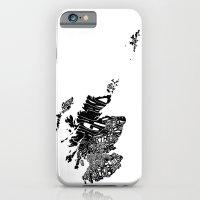 Typographic Scotland Eur… iPhone 6 Slim Case