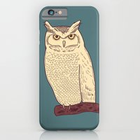 iPhone & iPod Case featuring Owl by Sam Scales