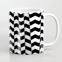 Chevron Pieces Mug