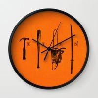 Pulp Makers Wall Clock