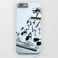 iPhone & iPod Case featuring musical moment by bananabread