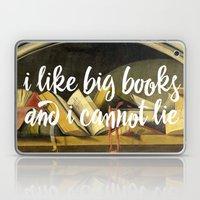 I Like Big Books And I Cannot Lie Laptop & iPad Skin