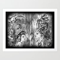 Power Animals Art Print