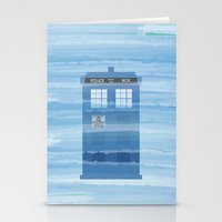 TARDIS Under The Sea - D… Stationery Cards
