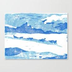 Iditarod Canvas Print