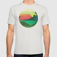 Circlescape Mens Fitted Tee Silver SMALL