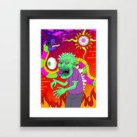 Hero-In Framed Art Print