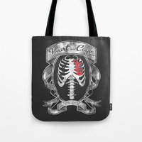 Heart In A Cage Tote Bag