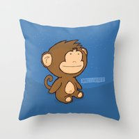 Happiness Is A Clear Nig… Throw Pillow