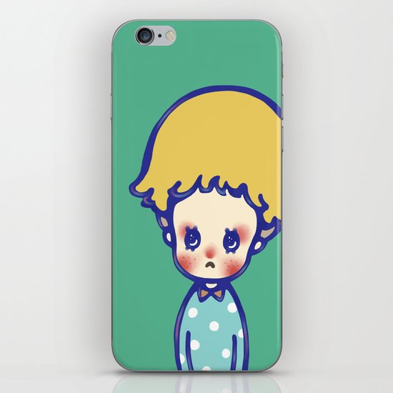 Where are you, little star? iPhone & iPod Skin