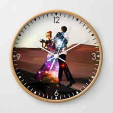 Lucy & DiMiTri Wall Clock