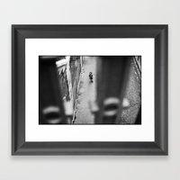 Little Girl, Poissoniere… Framed Art Print