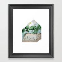 Biosphere Home Farm Framed Art Print