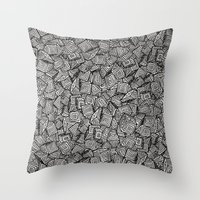 Chaos!! Throw Pillow