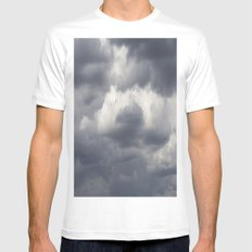 The Storms Approach Mens Fitted Tee White SMALL