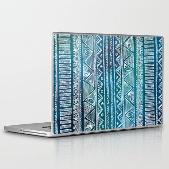 Hippie Pattern Laptop & iPad Skin