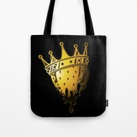 King Strawberry Tote Bag