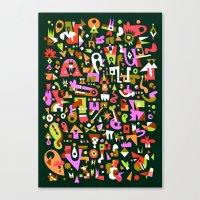 Schema 16 Canvas Print