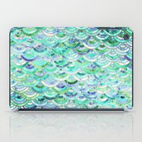 Marble Mosaic in Mint Quartz and Jade iPad Case