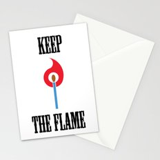 Keep the Flame Stationery Cards