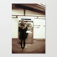 34th Street Canvas Print