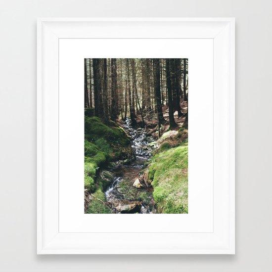 Mini - Stream Framed Art Print