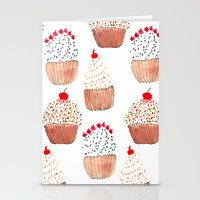 Cupcakes Stationery Cards