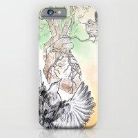 Green Bough, Singing Bird iPhone 6 Slim Case