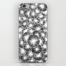White Pinwheels iPhone & iPod Skin