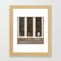 Church secretary Framed Art Print