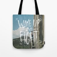 WAKE UP AND FIGHT (AGAIN… Tote Bag
