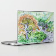 Peaceful Garden Laptop & iPad Skin