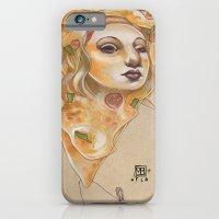 PIZZA LADY iPhone 6 Slim Case