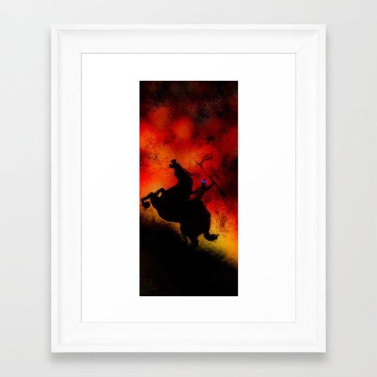 Kill Them All Framed Art Print