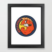The Flying Hellfish Framed Art Print