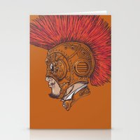 Steampunk-Punk Stationery Cards