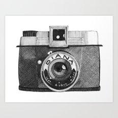 diana camera Art Print