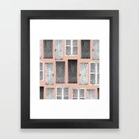 Knok Knok Framed Art Print
