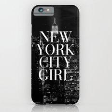New York City Girl Black… iPhone 6 Slim Case