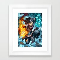The First Framed Art Print