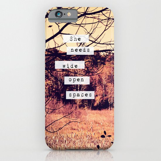 Wide Open Spaces II iPhone & iPod Case